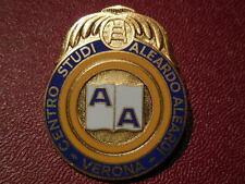 distintivo centro studi aleardo aleardi Verona