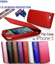 SOFT PU FLIP CREDIT CARD LEATHER CASE COVER APPLE IPHONE 5 5S / IPHONE 6 - 4.7""