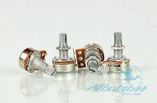4x B500K Potentiometers Linear Taper Split Shaft Volume Tone Guitar Bass Pots