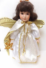 VINTAGE ASHTON DRAKE GOLDEN ANGEL CHILD PORCELAIN DOLL