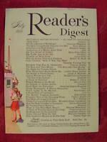 Readers Digest July 1956 Bruce Barton Margaret Sanger James Michener