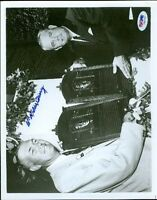 BILL TERRY AUTOGRAPH 8X10 SIGNED PHOTO PSA/DNA AUTHENTIC