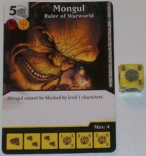 MONGUL RULER OF WARWORLD 124/142 War Of Light Dice Masters DC