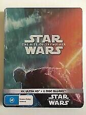 Star Wars The Rise Of Skywalker 4K UHD Bluray Steelbook RB NEW & SEALED