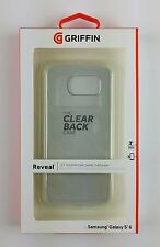 Griffin Reveal carcasa dura back cover funda Samsung s6 transparente, nuevo