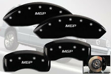 2002-2005 Mercury Mountaineer Front + Rear Black MGP Brake Disc Caliper Covers