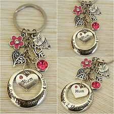Keyrings Gift for mum sister daughter cousin - Mother's day Birthday Xmas gift
