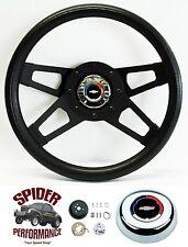 "1969-1994 Camaro steering wheel CLASSIC BOWTIE BLACK 4 SPOKE 13 1/2"" Grant"
