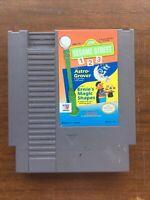 Sesame Street 123 Nintendo NES Video Game Cart