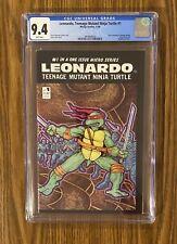 TEENAGE MUTANT NINJA TURTLES LEONARDO #1 (W/P) (12/86) CGC 9.4 NEW CASE!