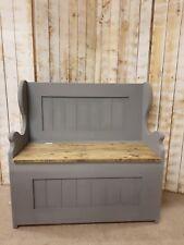3ft Monks Bench/Church Pew/Settle/Storage/Window Seat