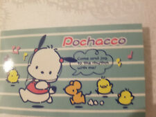 Sanrio Pochacco Notebook Note Sheets Running