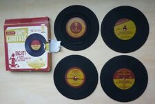 Wembley Casino and Lounge collection Rockin' Vinyl Coasters set of 4 records