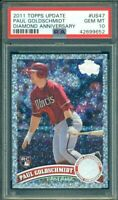 2011 Topps Update Diamond Anniversary Paul Goldschmidt RC Rookie PSA 10