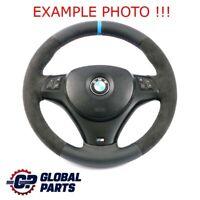 BMW 1 3 Il E81 E82 E87 E88 E90 E91 E92 E93 M Volant Sport Épais Nouveau Cuir