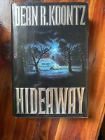 Hideaway by Dean Koontz Hardcover 1st Edition First Printing Horror 1992