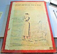 PETIT JOURNAL POUR RIRE N. 474/522 rilegati annata completa 1865 cca ILLUSTRATO