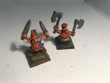 2x Marauder Slayer Trollslayers Duardin Dwarf Dwarves Dispossessed Warhammer