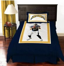 New San Diego Chargers Philip Rivers Comforter Bedding Set Twin By Biggshots New
