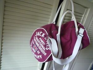 Retro Jack Wills Gym/duffle bag   Burgundy
