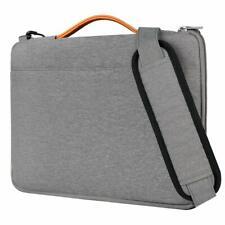 Inateck 14-14,1 Zoll Laptop Schultertasche, Wasserdichte Laptop Hülle, Grau
