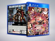 Ultimate Marvel vs. Capcom 3 - PS4 - Replacement Cover / Case (NO Game)