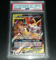 PSA 10 GEM MINT Charizard & Braixen GX SM230 SM Black Star Promo Pokemon Card
