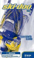 Ski-Doo owners manual book 2002 GRAND TOURING 800