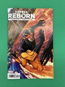 Heroes Reborn #3 1:25 Bradshaw Variant Marvel 2021