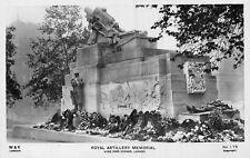 POSTCARD    LONDON    Royal  Artillery  Memorial   Hyde  Park  Corner