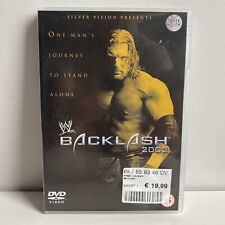 BACKLASH 2002 WRESTLEMANIA DVD WWF WWE • SILVER VISION •
