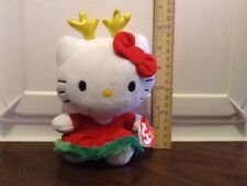 "NWT Ty Hello Kitty 6"" Plush Beanie Baby Collectible Toy"