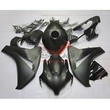 Matte Black Fairing Kit fits Honda CBR1000RR 2008-2011 Tank Cover&Seat Cowl 08