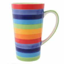 Hot Chocolate Striped Mugs