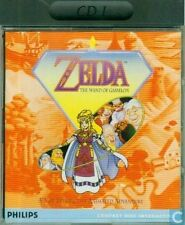 CD-I  - ZELDA  THE WAND OF GAMELON  (PHILIPS  COMPACT DISC INTERACTIVE)