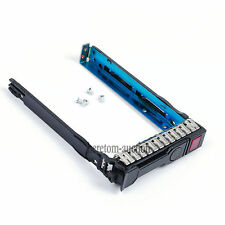 "2.5"" SAS SATA SSD Hard Drive Tray Caddy For HP ProLiant DL360p DL380e Gen8 G8"