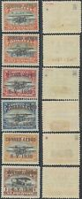 Bolivia Air Mail Surcharge 1930 - MH stamps D37
