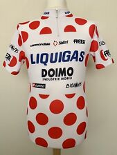 Liquigas 2009 Tour France King of the Mountains Pellizotti cycling shirt jersey