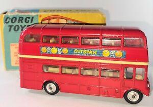 Corgi Toys 468 London Transport Routemaster Bus, Diecast Model Toy original Box
