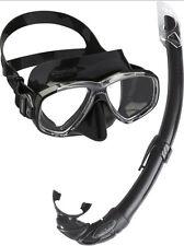 Equipo Buceo Gafas Tubo SET Kit Bucear Máscara Cómoda Playa Mar Snorkel Scuba