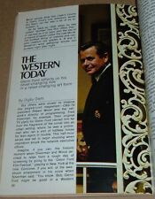 1972 TV GUIDE COVER & ARTICLE~GLENN FORD~CADE'S COUNTY ACTOR