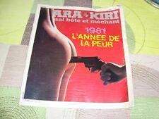 HARA-KIRI-JOURNAL BETE ET MECHANT N° 232