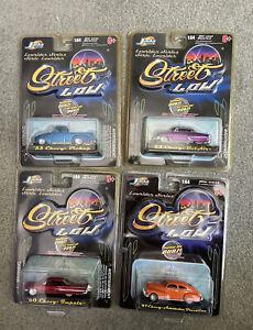 Lot of Four 2001 Jada Lowriders Series Chevy vehicles - NIB