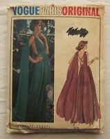 Vintage Gown Sewing Pattern*Vogue1135*Size 12*Cut/Complete*Emanuel Ungaro*formal