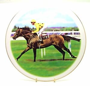 Reference Point ~ The Derby Winning Horse ~ Bone China  Plate