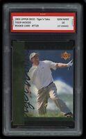 2001 Tiger Woods UD Upper Deck Rookie 1st Graded 10 PGA Masters Golf RC Card #29