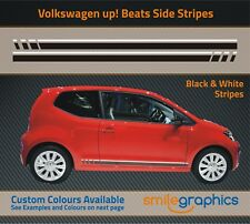 VW up Beats Stripe Kit Stickers decals - Other colours available - Black White