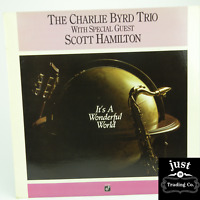 The Charlie Byrd Trio - It's A Wonderful World 1989 PROMO lp CJ 374 - Jazz - NM
