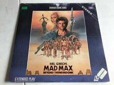 Mad Max Beyond Thunderdome - Vintage Laserdisc Movie - Factory Sealed / NOS