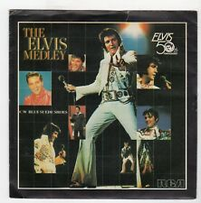 (II893) The Elvis Medley, Elvis 50th Anniversary - 1984 - 7 inch vinyl